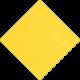Caspari, Yellow Grosgrain Luncheon Paper Napkins,