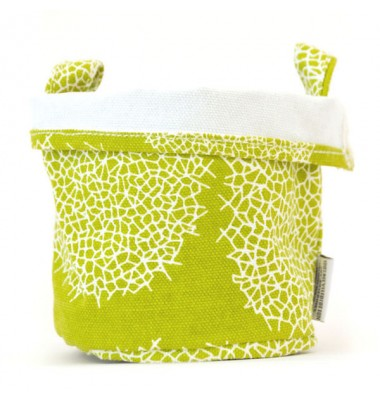 Small Canvas Bucket - Green, Chewing The Cud