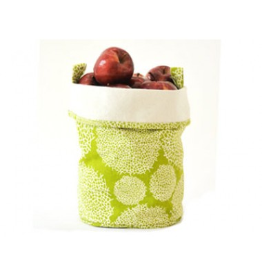 Large Canvas Bucket - Green