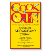 BBQ Invitations, Cook Out, Inviting Company