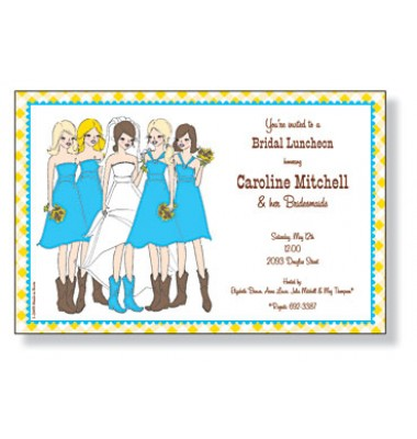 Bridal Shower Invitations, Country Girls, Inviting Company