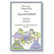 Tea Party Invitations, Bridal Tea, Inviting Company