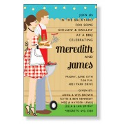 BBQ Invitations, BBQ Duo, Inviting Company