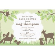 Baby Shower Invitations, Woodland Friends, Inviting Company