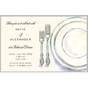 Invitations, Classic Place Setting, Inviting Company