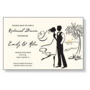Engagement Invitations, Couple, Inviting Company