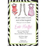 Lingerie Shower Invitations, Racy Lingerie, Inviting Company