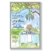 Brunch Invitations, Outdoor Table, Inviting Company