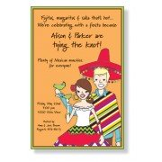 Fiesta Invitations, Amigos, Inviting Company