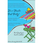 Fiesta Invitations, Fiesta Pool Party, Inviting Company