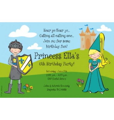 Princess Invitations, Princess Ellis, Inviting Company