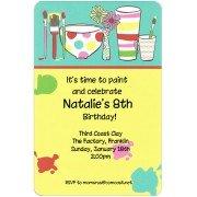 Art Invitations, Painting Pots, Inviting Company
