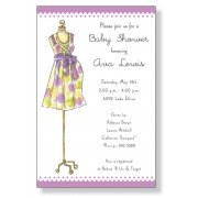 Baby Shower Invitations, Mommy Dress, Inviting Company
