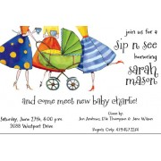 Baby Shower Invitations, Peeking Posse, Inviting Company
