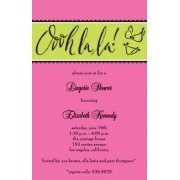 Lingerie Invitations, Ooh La La, Inviting Company