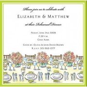 Rehearsal Dinner Invitations, Dinner Table, Inviting Company