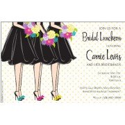 Bridal Shower Invitations, Snazzy Maids, Inviting Company