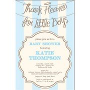 Baby Shower Invitations, Angel Boy, Inviting Company