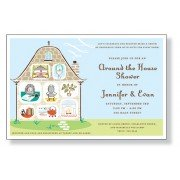 Around The House Shower Invitations, Cute Rooms, Inviting Company