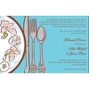 Dinner Invitations, Beachy Plate, Mindy Weiss