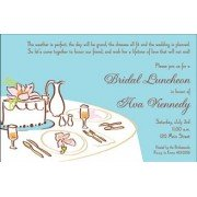 Bridal Shower Luncheon Invitations, Maids Lunch, Mindy Weiss