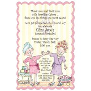 Spa Party Invitations, Spa Day, Julia Azar