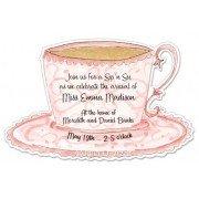 Tea Party Invitations, Teacup, Julia D Azar