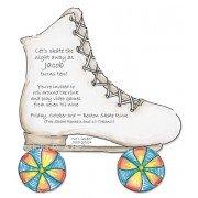 Skating Invitations, Roller Skate, Julia D Azar