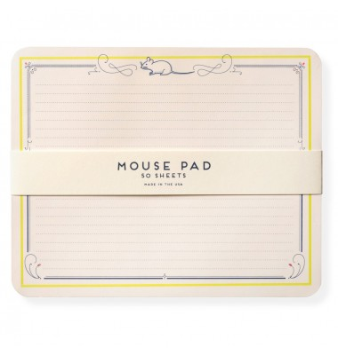 Mouse Notepad, Karen Adams
