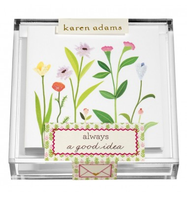 Gift Enclosure, Always in Acrylic Box, Karen Adams