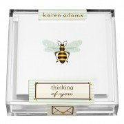 Gift Enclosure, Bee in Acrylic Box, Karen Adams