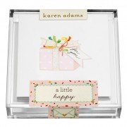 Gift Enclosure, Present in Acrylic Box, Karen Adams