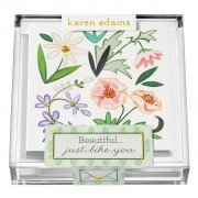Gift Enclosure, Beautiful You in Acrylic Box, Karen Adams