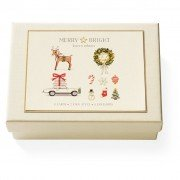 Boxed Note Cards, Merry & Bright, Karen Adams