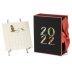 2022 Boxed Calendar With Silver Easel, Karen Adams