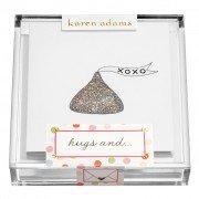 Gift Enclosure, Hugs and...in Acrylic Box, Karen Adams