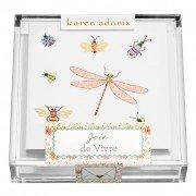 Gift Enclosure, Joie de Vivre in Acrylic Box, Karen Adams