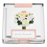 Gift Enclosures, Flowers in Acrylic Box, Karen Adams