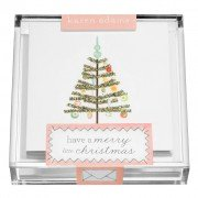 Gift Enclosures, Christmas Tree in Acrylic Box, Karen Adams