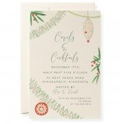 Christmas Invitations, Trim It, Karen Adams