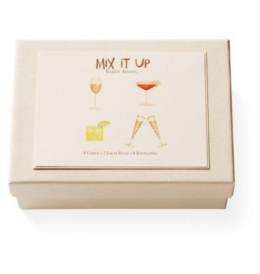 Boxed Note Cards, Mix It Up, Karen Adams