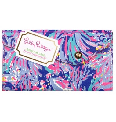 Lilly Pulitzer Sunglass Case - Shrimply Chic