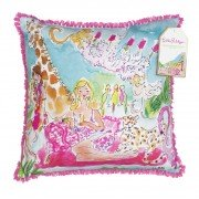 Lilly Pulitzer Large Pillow, Zoo Party