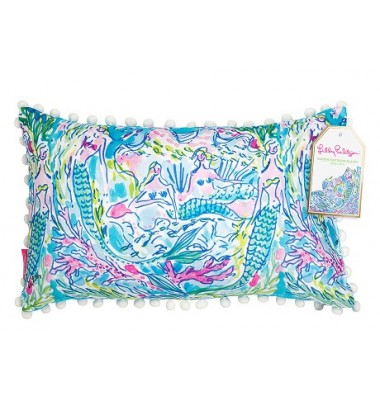 Lilly Pulitzer Medium Pillow - Mermaid