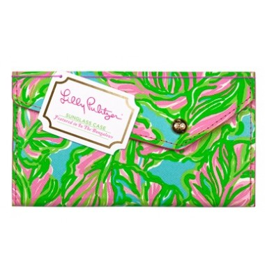 Lilly Pulitzer Sunglass Case - In the Bungalows