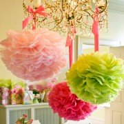 Lilly Pulitzer Party Pom Poms