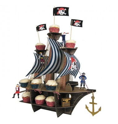 Pirate Ship Centerpiece, Ahoy There, Meri Meri