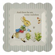Peter Rabbit Small Scollop Edge Plate, Meri Meri
