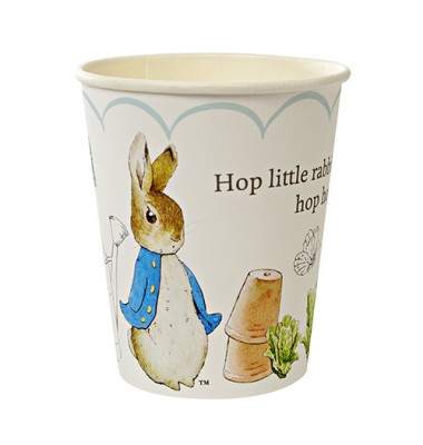 Peter Rabbit Scollop Pattern Party Cups, Meri Meri