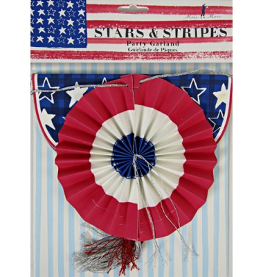 Stars and Stripe Garland, Meri Meri